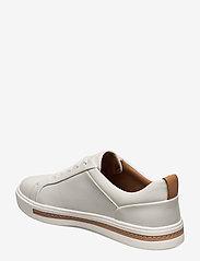 Clarks - Un Maui Lace - låga sneakers - white leather - 2