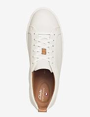 Clarks - Un Maui Lace - låga sneakers - white leather - 3