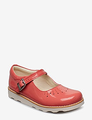 Clarks - Crown Jump K - sandals - coral pat lea - 0
