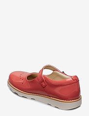 Clarks - Crown Jump K - sandals - coral pat lea - 2