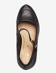 Clarks - Dalia Millie - klassiska pumps - black leather - 3