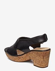 Clarks - Maritsa Lara - korolliset sandaalit - black - 2