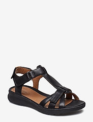 Clarks - Un Adorn Vibe - matalat sandaalit - black leather - 0