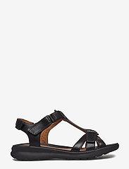 Clarks - Un Adorn Vibe - matalat sandaalit - black leather - 1