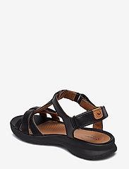 Clarks - Un Adorn Vibe - matalat sandaalit - black leather - 2