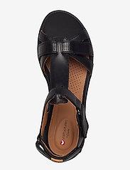 Clarks - Un Adorn Vibe - matalat sandaalit - black leather - 3