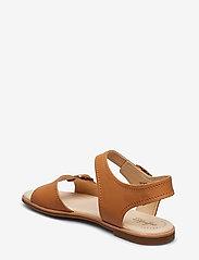 Clarks - Bay Primrose - platta sandaler - light tan lea - 2