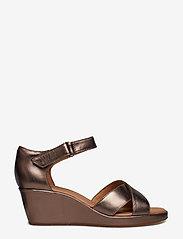 Clarks - Un Plaza Cross - korolliset sandaalit - pebble metalic - 1