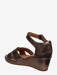Clarks - Un Plaza Cross - korolliset sandaalit - pebble metalic - 2