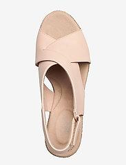 Clarks - Lafley Alaine - espadrilles avec talon - blush leather - 3