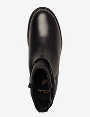 Clarks - Astrol Soar Y - flade ankelstøvler - black leather - 3