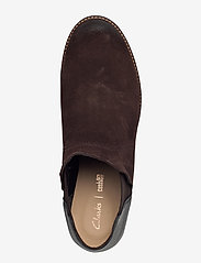 Clarks - Demi Beat - platta ankelboots - dark brown - 3