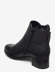 Clarks - Mila Charm - enkellaarsjes met hak - black leather - 2