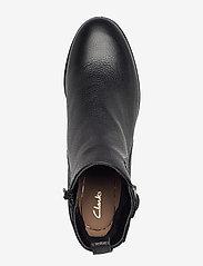 Clarks - Mila Charm - enkellaarsjes met hak - black leather - 3