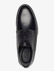 Clarks - Oliver Lace - snøresko - black leather - 3