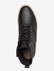 Clarks - Trace Pine - platta ankelboots - black leather - 3