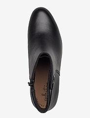 Clarks - Adriel Mae - ankelstøvler med hæl - black leather - 3