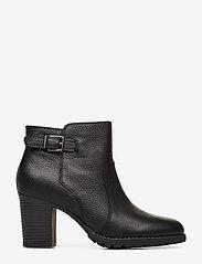 Clarks - Verona Gleam - ankelstøvletter med hæl - black - 1