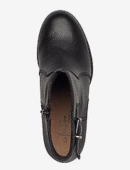 Clarks - Verona Gleam - ankelstøvler med hæl - black - 3