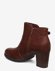 Clarks - Verona Gleam - ankelstøvler med hæl - british tan - 2