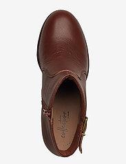 Clarks - Verona Gleam - ankelstøvler med hæl - british tan - 3
