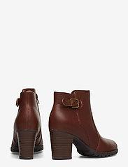 Clarks - Verona Gleam - ankelstøvler med hæl - british tan - 4