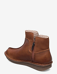 Clarks - Funny Mid - flat ankle boots - dark tan combi - 2