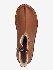 Clarks - Funny Mid - flat ankle boots - dark tan combi - 3