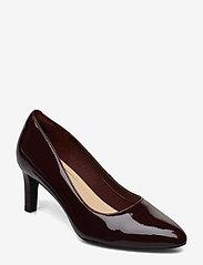 Clarks - Calla Rose - escarpins classiques - burgundy patent - 0