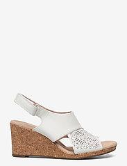 Clarks - Lafley Joy - kilklackar - white leather - 0
