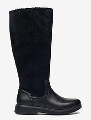 Clarks - Un Elda Hi - höga stövlar - black combi - 1