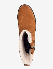 Clarks - Un Elda Mid - flade ankelstøvler - dark tan suede - 3