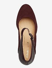 Clarks - Kaylin Alba - escarpins classiques - burgundy combi - 3