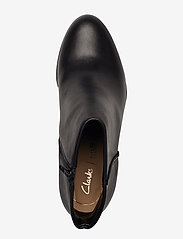 Clarks - Kaylin Fern - ankelboots med klack - black leather - 3