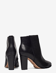 Clarks - Kaylin Fern - ankelboots med klack - black leather - 4