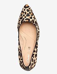 Clarks - Laina Rae - klassiska pumps - leopard print - 3