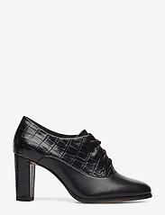 Clarks - Kaylin Ida - ankelstøvler med hæl - black combi - 1