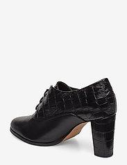 Clarks - Kaylin Ida - ankelstøvler med hæl - black combi - 2
