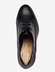Clarks - Kaylin Ida - ankelstøvler med hæl - black combi - 3