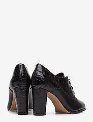 Clarks - Kaylin Ida - ankelstøvler med hæl - black combi - 4