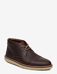 Clarks - Grandin Top - desert boots - dark brn tumbled - 0