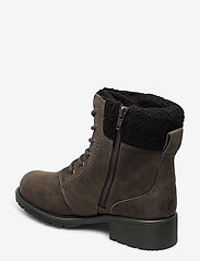 Clarks - Orinoco Dusk - flat ankle boots - dark grey lea - 2