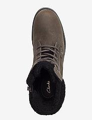 Clarks - Orinoco Dusk - flat ankle boots - dark grey lea - 3