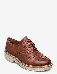 Clarks - Witcombe Echo - snörskor - tan leather - 0
