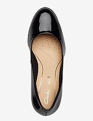 Clarks - Kaylin Cara - klassiska pumps - black pat - 3