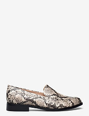 Clarks - Bizzy Dawn - loafers - taupe snake - 1