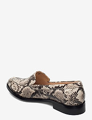 Clarks - Bizzy Dawn - loafers - taupe snake - 2
