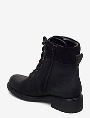 Clarks - Orinoco Up GTX - platte enkellaarsjes - black leather - 2