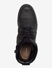 Clarks - Orinoco Up GTX - platte enkellaarsjes - black leather - 3