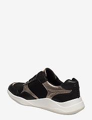 Clarks - Sift Lace - sneakers med lav ankel - black combi - 2